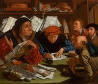 the notary by marinus van reymerswaele