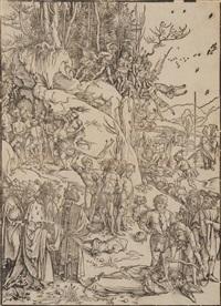 marter der zehntausend von nikomedien by albrecht dürer