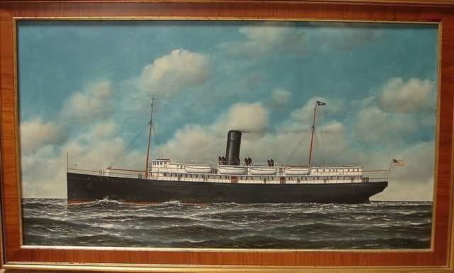 ocean liner tampa by carl ferdinand jacobsen