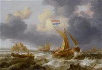 marine by jan peeters the elder