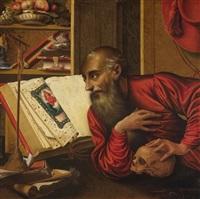 heiliger hieronymus by marinus van reymerswaele