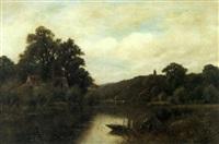 on the thames at marsh lock by wiggs kinnaird