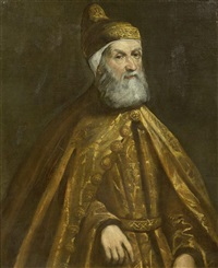 porträt des venezianischen dogen girolamo priuli by jacopo robusti tintoretto