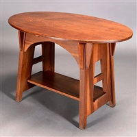 oval table by charles limbert