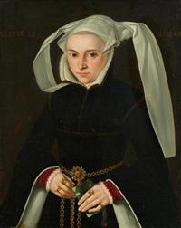 porträt einer jungen frau im alter von 25 jahren by anonymous-german (16)