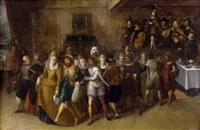 festliche gesellschaft by hieronymus francken the younger