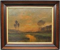 landscape scene by frank f. english