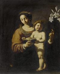 madonna mit kind und lilie by antiveduto grammatica