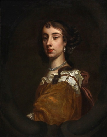 a portrait of a lady barbara villiers duchess of cleveland by sir peter lely