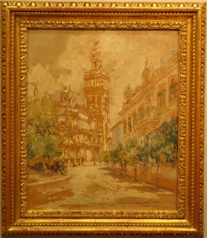giralda tower seville by colin campbell cooper