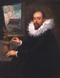 portrait eines bildhauers by domenico tintoretto