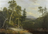 white mountains in new hampshire by william g. boardman