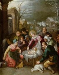 anbetung der hirten by hieronymus francken iii
