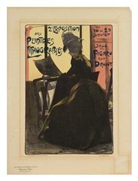 2e exposition des peintres lithographes (les maitres de l'affiche pl. 219) by fernand louis gottlob