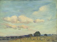 landscape by florence carlyle