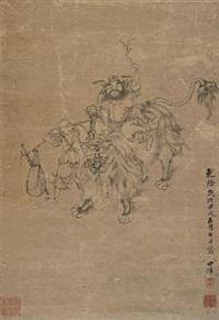 午瑞图 (character) by li shizhuo