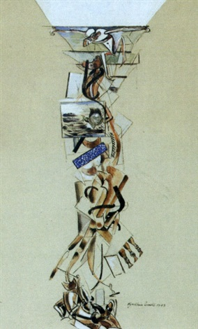 the ascent by wyndham lewis