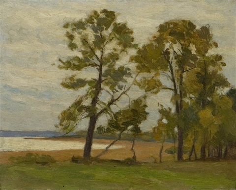 lakeside view by william brymner