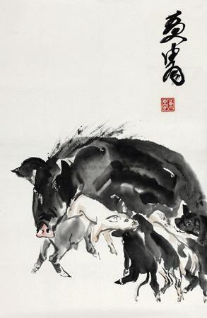 饲子图 by huang zhou