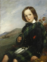 a highland lad by scottish school (19)