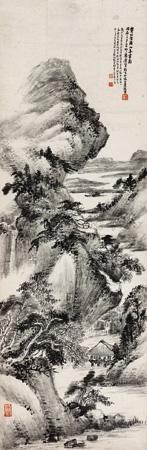 溪山无尽图 by xiao junxian