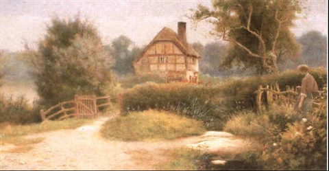 a summers morning near heswall by james aitken