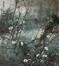梅花(a-134) by jiang mingxian