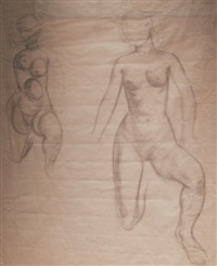 figure studies by o. louis guglielmi