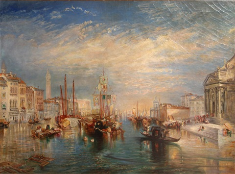 venice from the porch of madonna della salute by joseph mallord william turner
