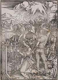 enthaupthauptung der hl. katharina by albrecht dürer