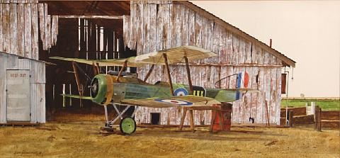 sopwith camel world war i fighter by david allen halbach