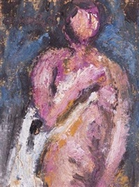 裸女 by chang wan-chuan