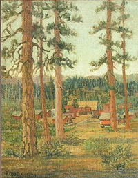 logger's camp by frederick carl smith