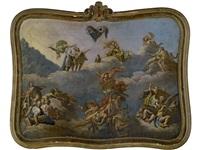 the gods of mount olympus by bartholomäus altomonte
