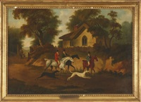 hunt scene by dean wolstenholme the elder