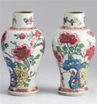 vasen (pair) by maison samson (co.)