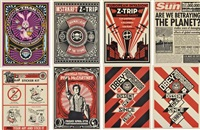 coachella festival, paul mccartney, sticker kit, does she look down, love and untitled (24 works) by shepard fairey