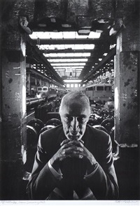 alfred krupp, essen germany by arnold newman