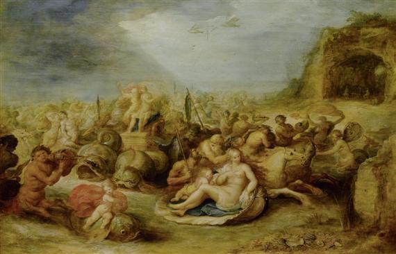 der triumphzug von neptun und amphitrite by frans francken the younger