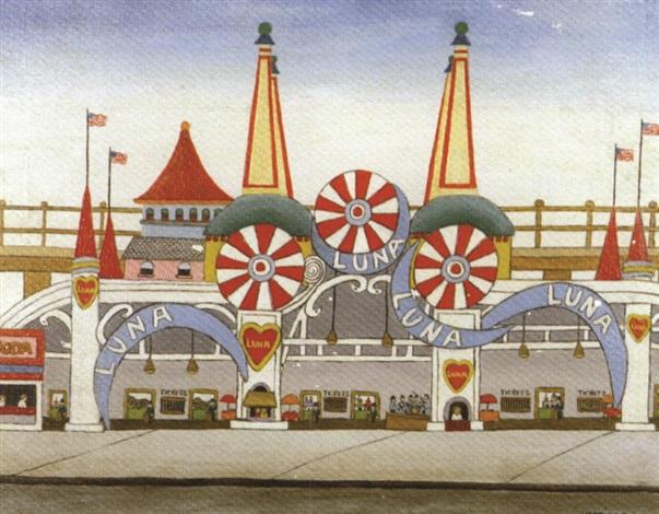 luna park coney island by vestie e davis
