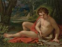 John the Baptist in a landscape, 1755