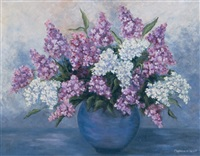 lilacs by marguerite scott
