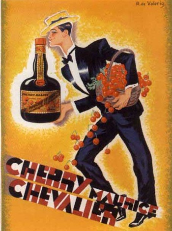 cherry maurice chevalier by roger de valerio