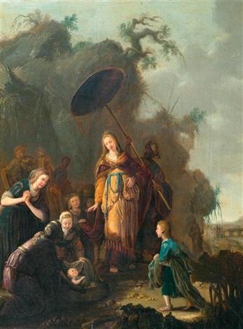 auffindung des mosesknaben by willem bartsius