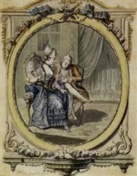 la jarretière by francois (marie isod.) queverdo
