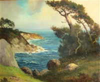 monterey coast by george sanders bickerstaff