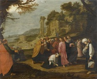 christus heilt eine kranke frau by jacob symonsz pynas