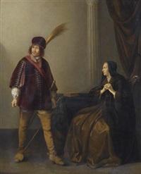 edelmann und dame by willem bartsius