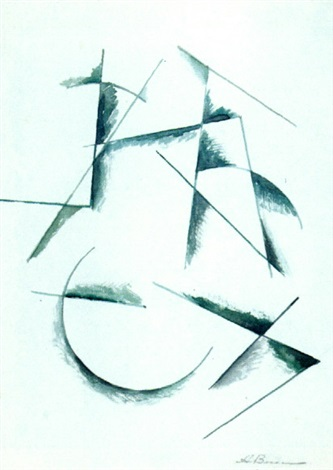 untitled composition by alexander vesnin