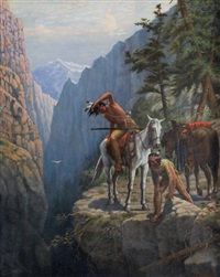 indians at the overlook by matthew hastings